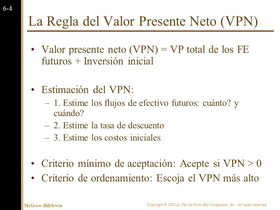 Buenos atributos de la regla del VPN