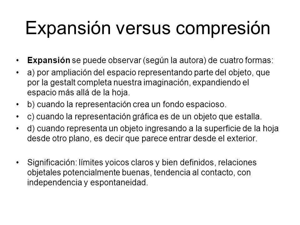 Expansión versus compresión