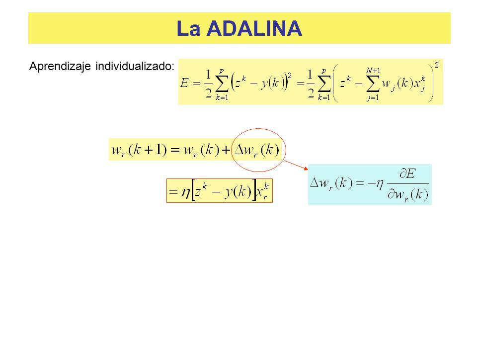 La ADALINA Aprendizaje individualizado: