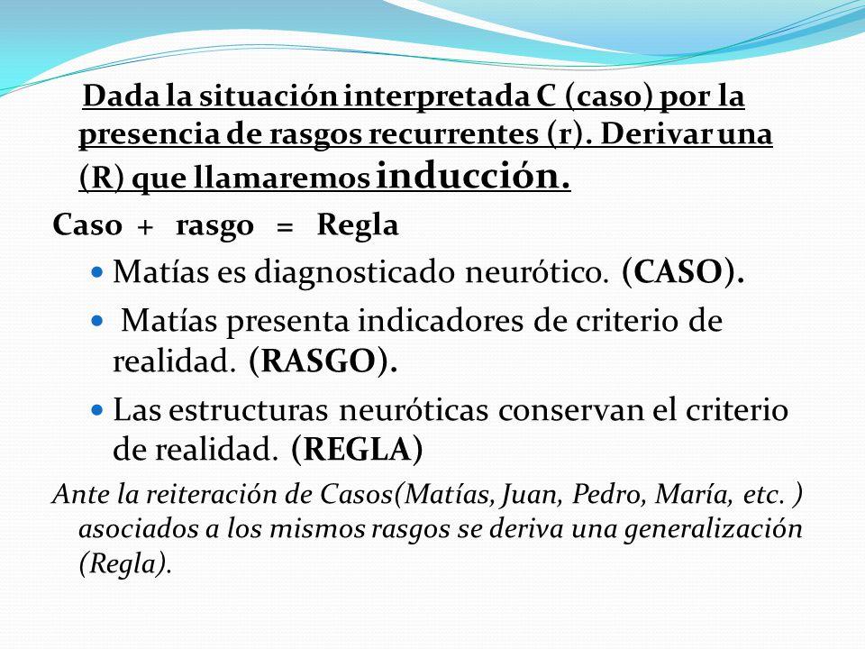Matías es diagnosticado neurótico. (CASO).