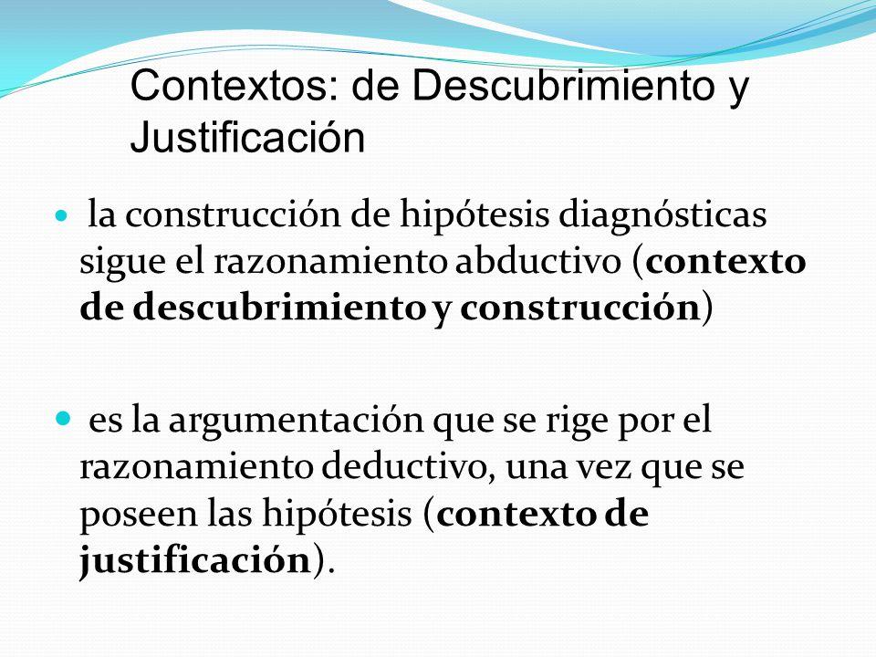 Contextos: de Descubrimiento y Justificación