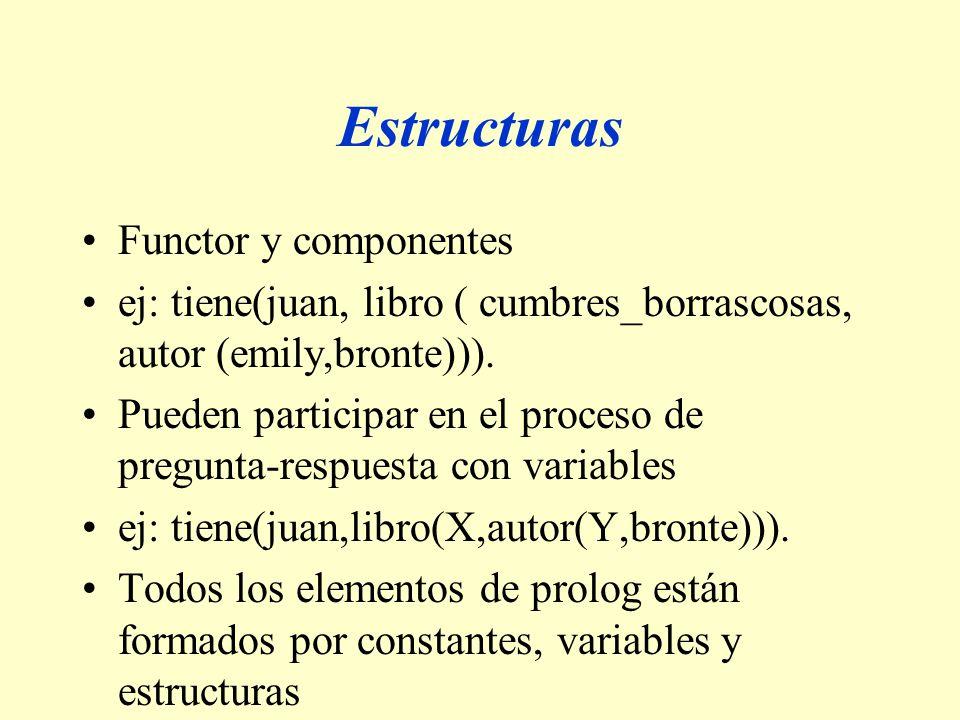 Estructuras Functor y componentes