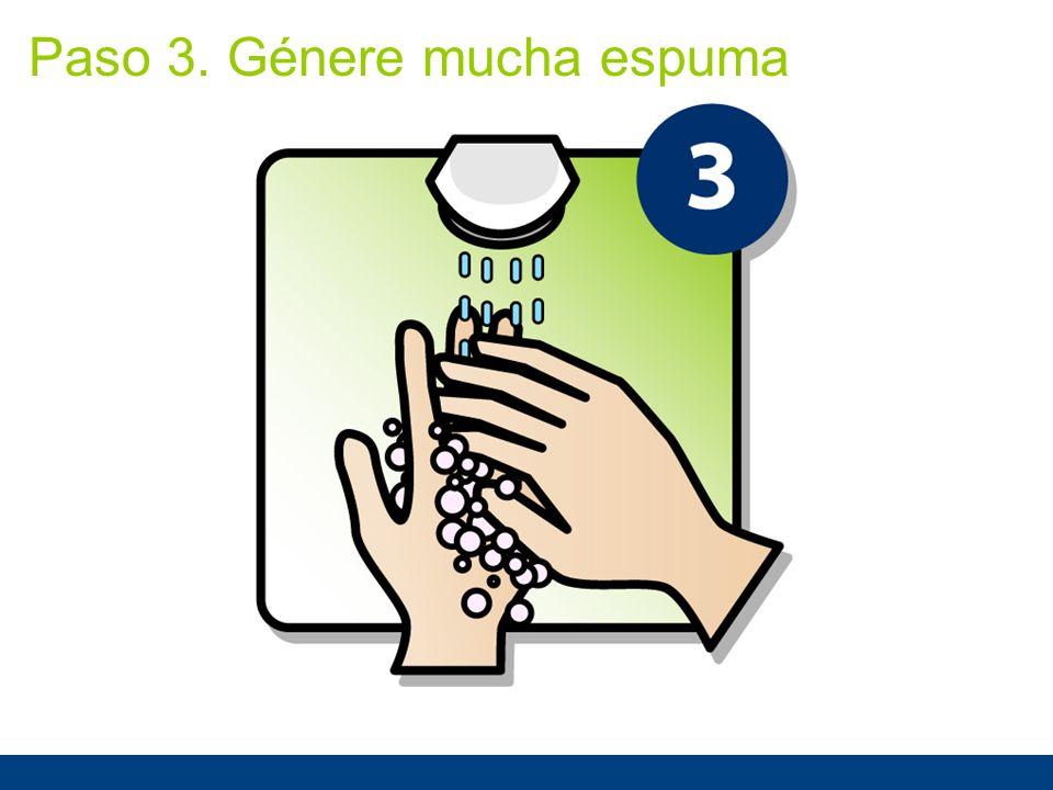 Paso 3. Génere mucha espuma