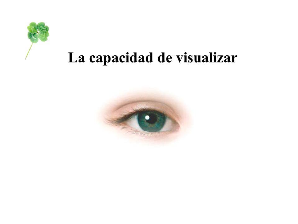 La capacidad de visualizar