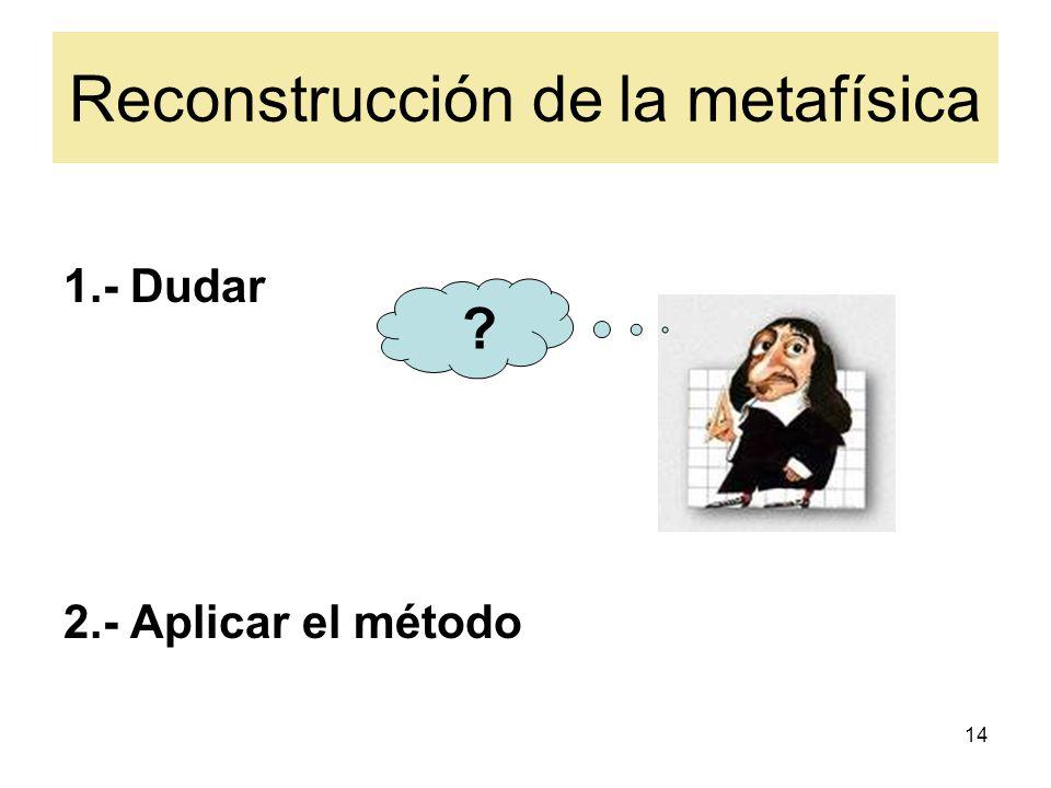 Reconstrucción de la metafísica