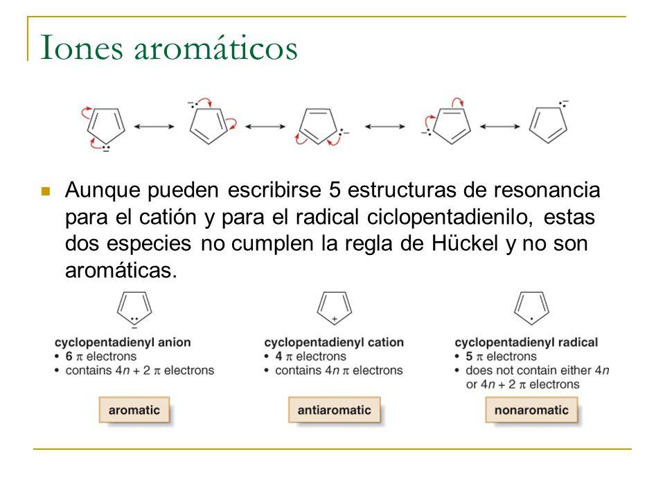 Iones aromáticos