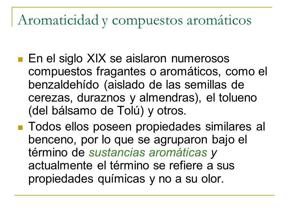 Aromaticidad y compuestos aromáticos