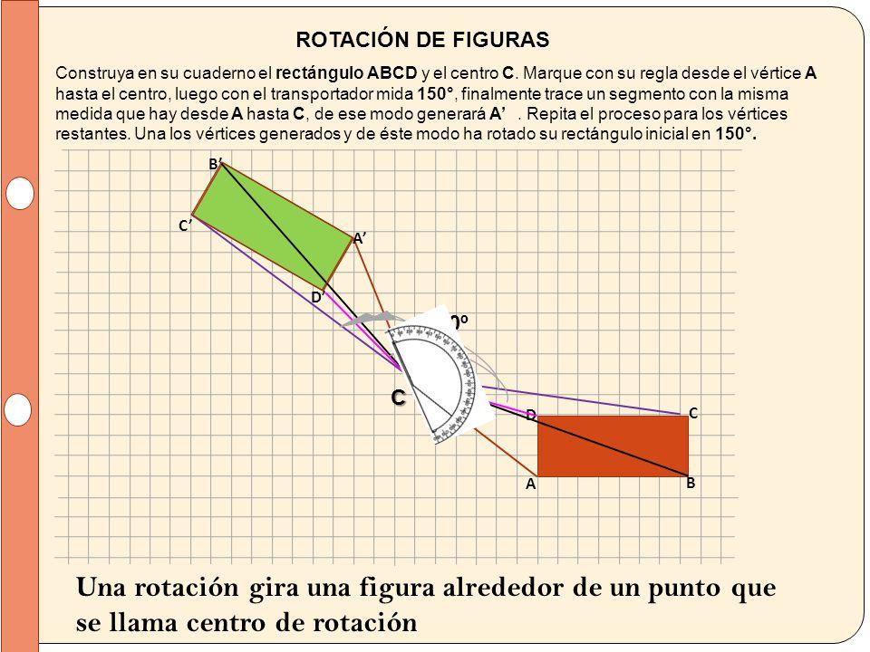 ROTACIÓN DE FIGURAS