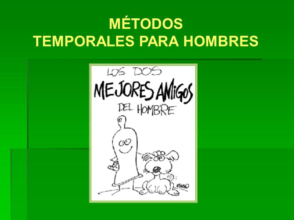 TEMPORALES PARA HOMBRES