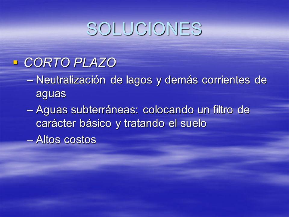 SOLUCIONES CORTO PLAZO
