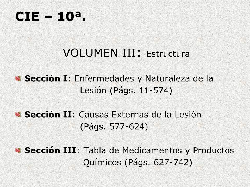 VOLUMEN III: Estructura