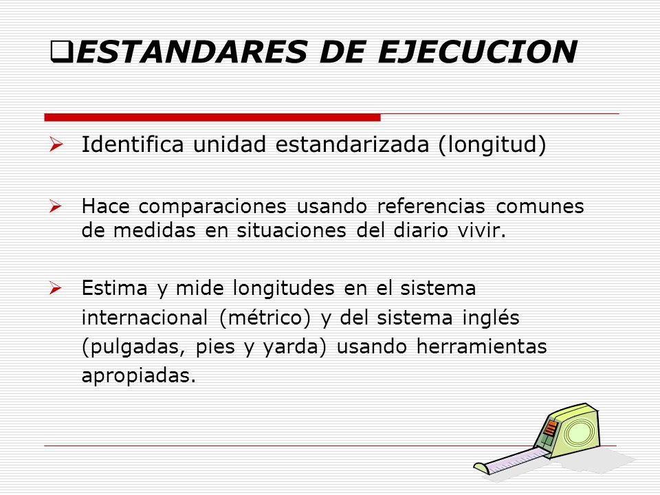 ESTANDARES DE EJECUCION