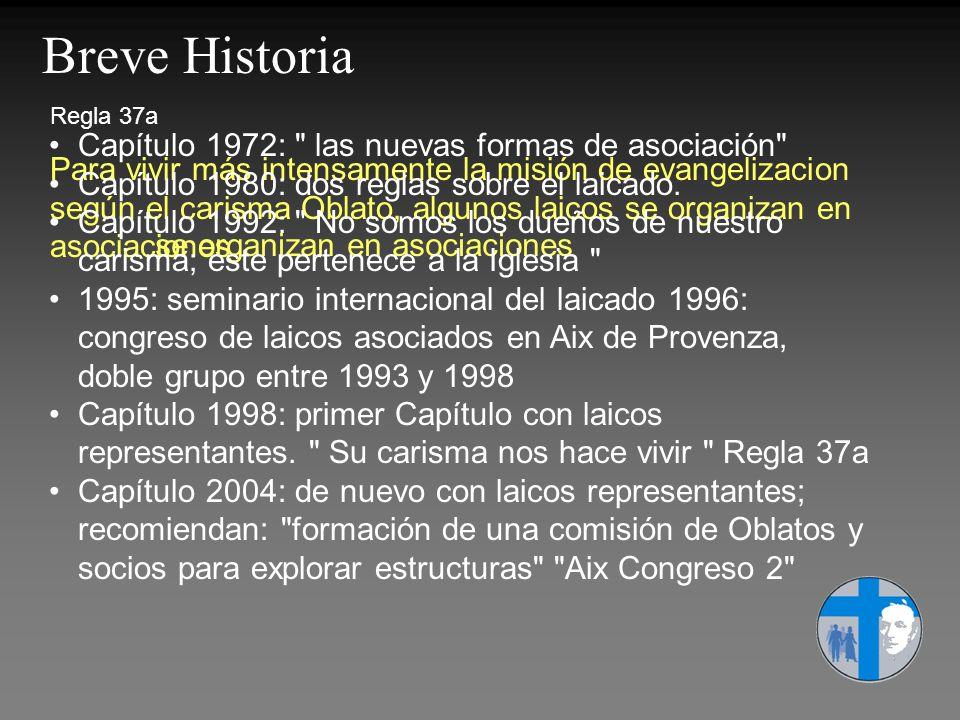 Breve Historia Capítulo 1972: las nuevas formas de asociación