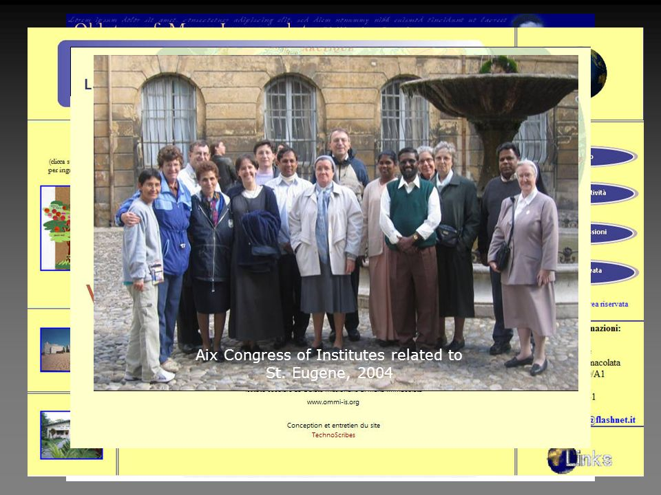 Aix Congress of Institutes related to St. Eugene, 2004