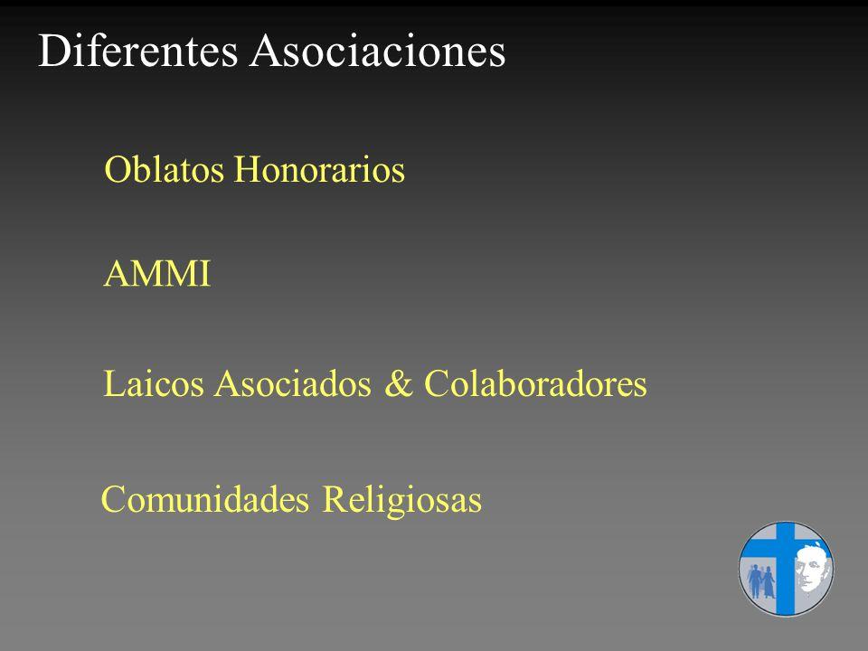 Diferentes Asociaciones