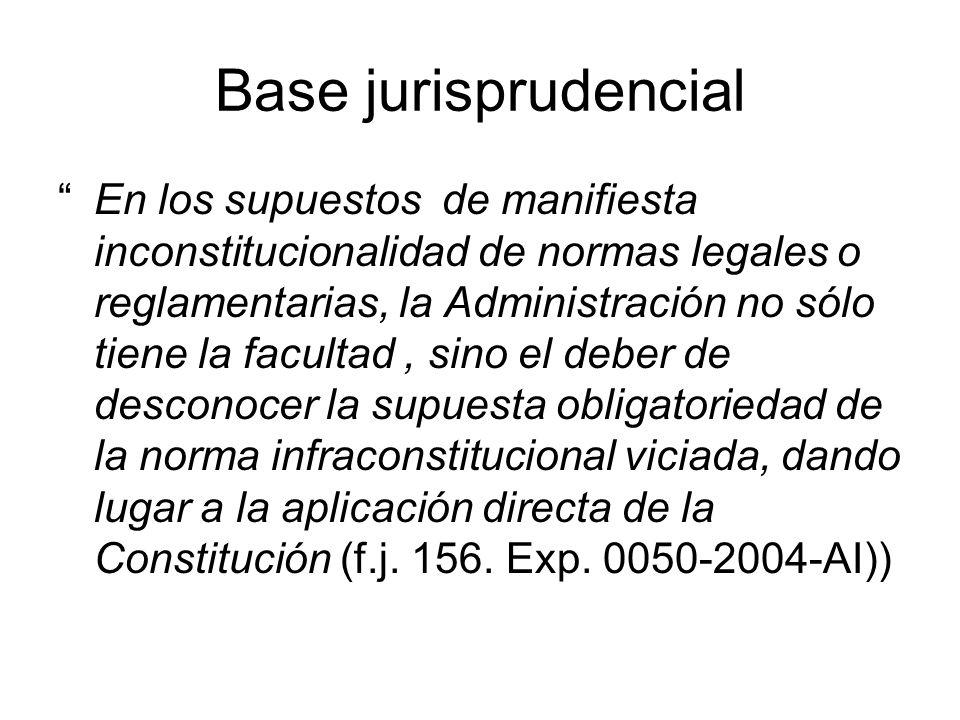 Base jurisprudencial