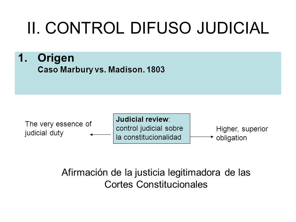II. CONTROL DIFUSO JUDICIAL