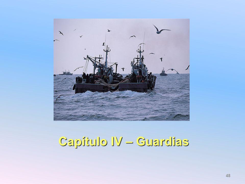 Capítulo IV – Guardias