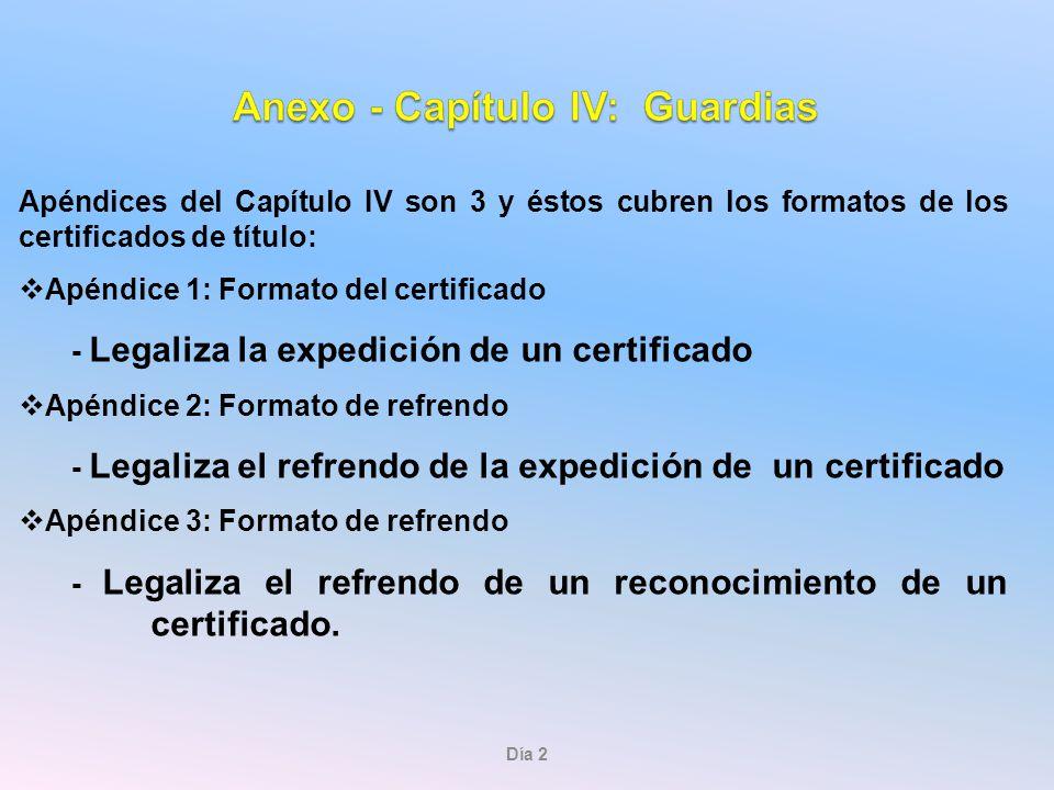 Apéndice 1: Formato del certificado