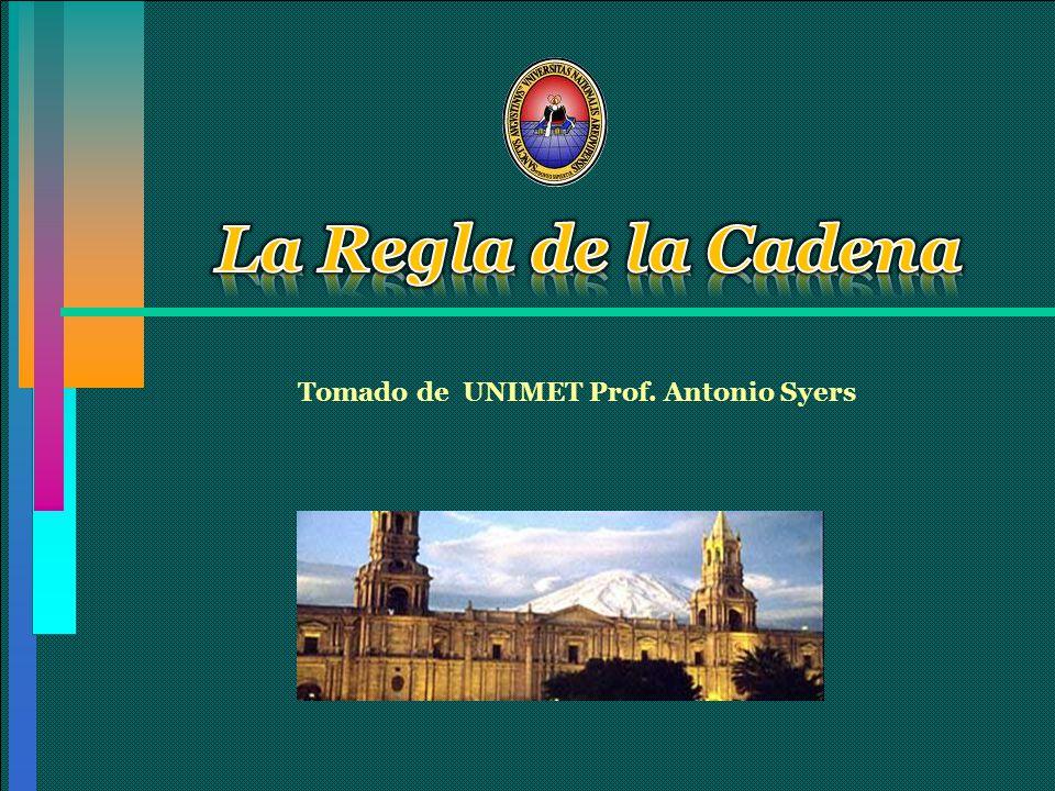 Tomado de UNIMET Prof. Antonio Syers