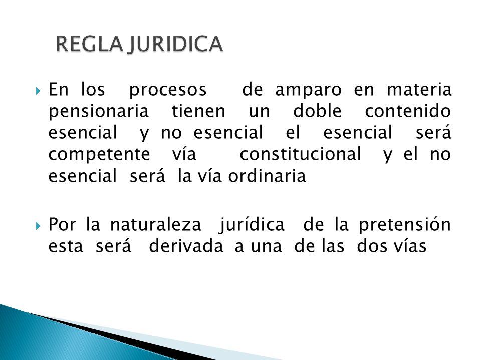 REGLA JURIDICA