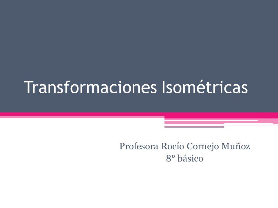 Transformaciones Isométricas