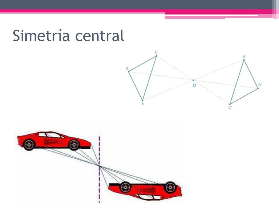 Simetría central