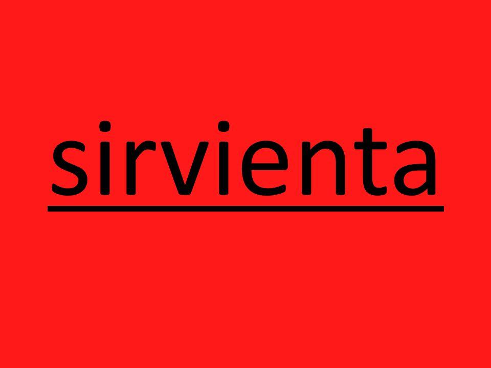 sirvienta