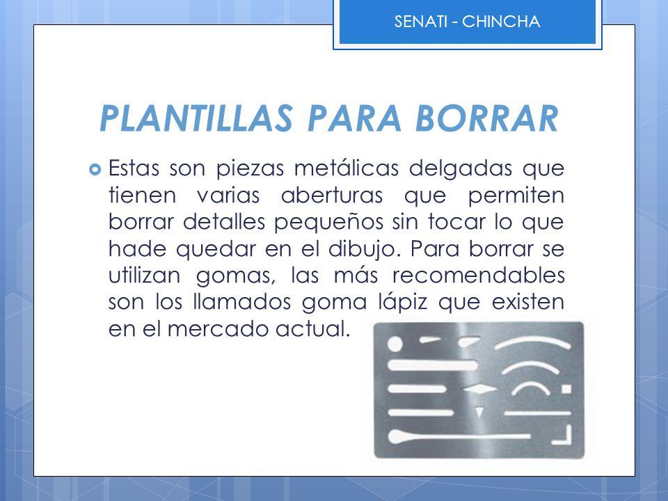 PLANTILLAS PARA BORRAR