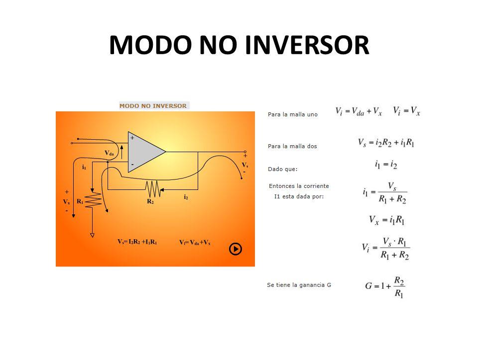 MODO NO INVERSOR