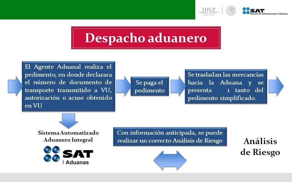 Sistema Automatizado Aduanero Integral