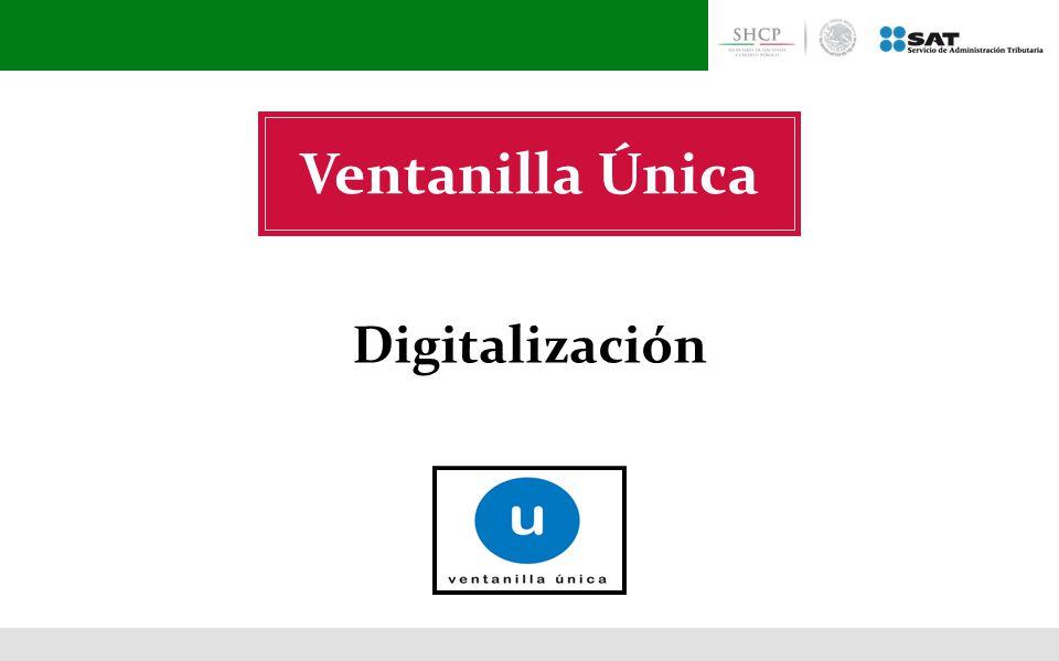 Ventanilla Única Digitalización