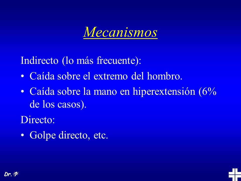 Mecanismos Indirecto (lo más frecuente):