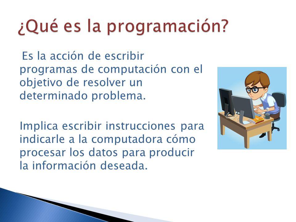 ¿Qué es la programación