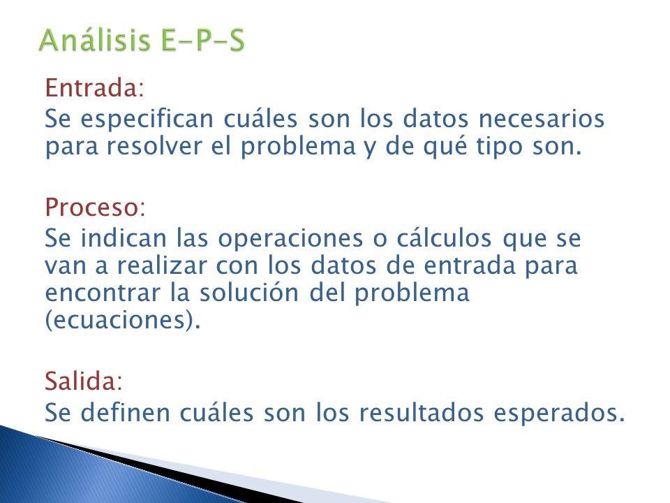 Análisis E-P-S
