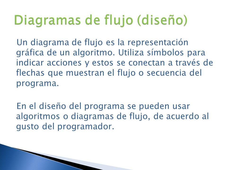 Diagramas de flujo (diseño)