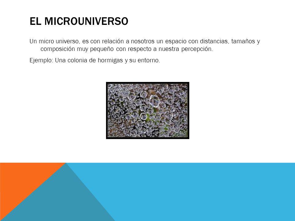 El microuniverso