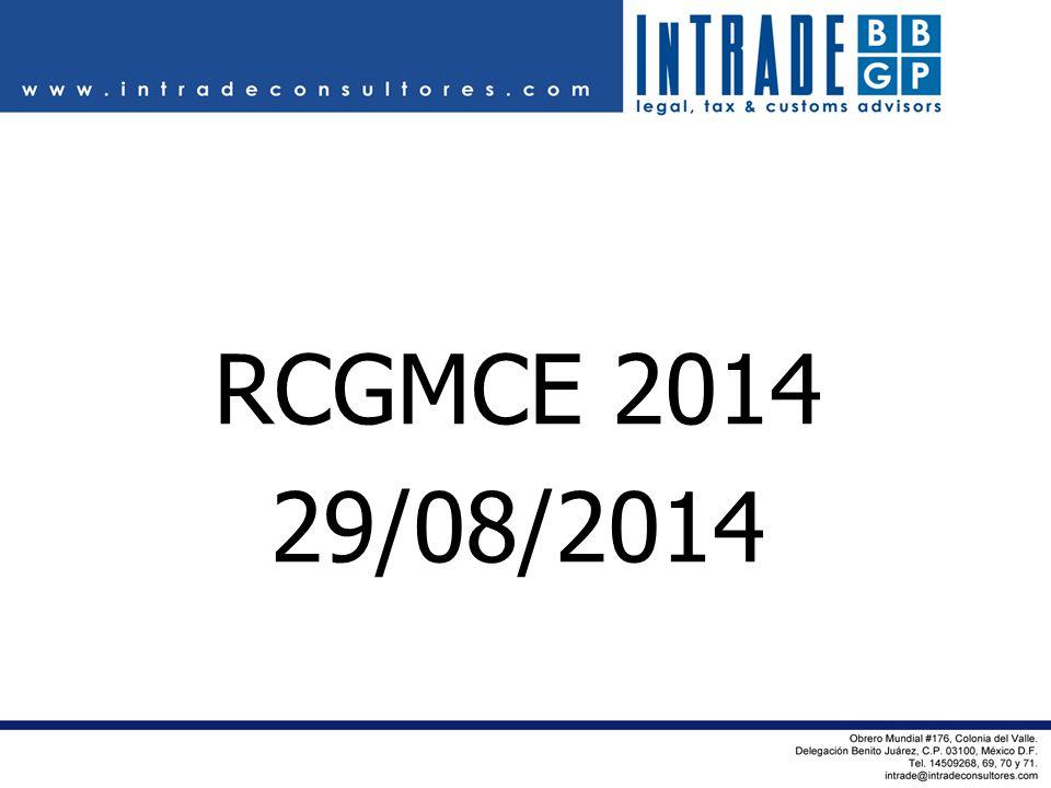 RCGMCE 2014 29/08/2014