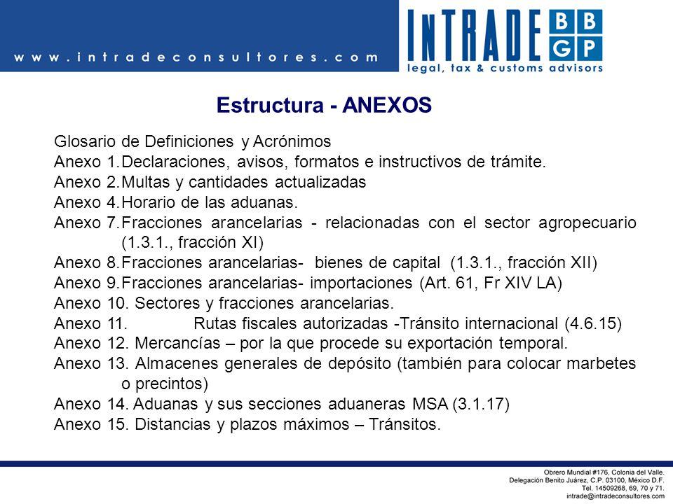 Estructura - ANEXOS Glosario de Definiciones y Acrónimos