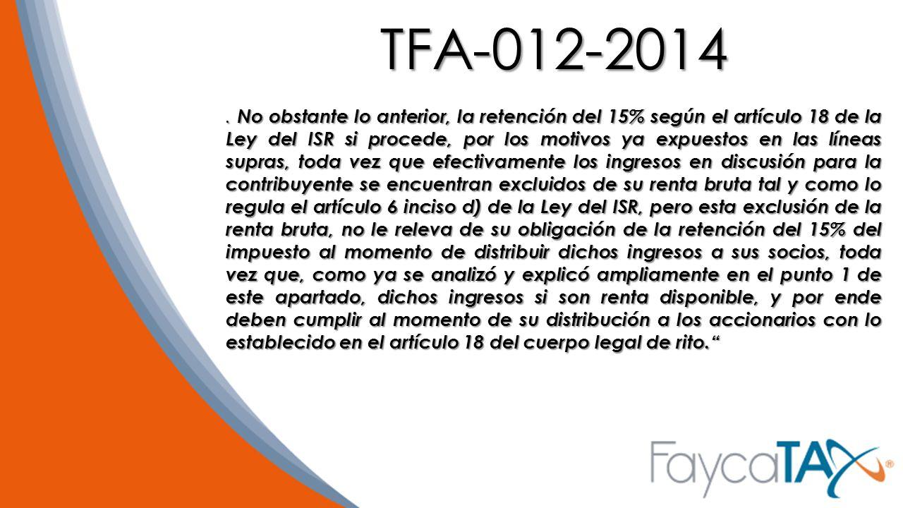 TFA-012-2014