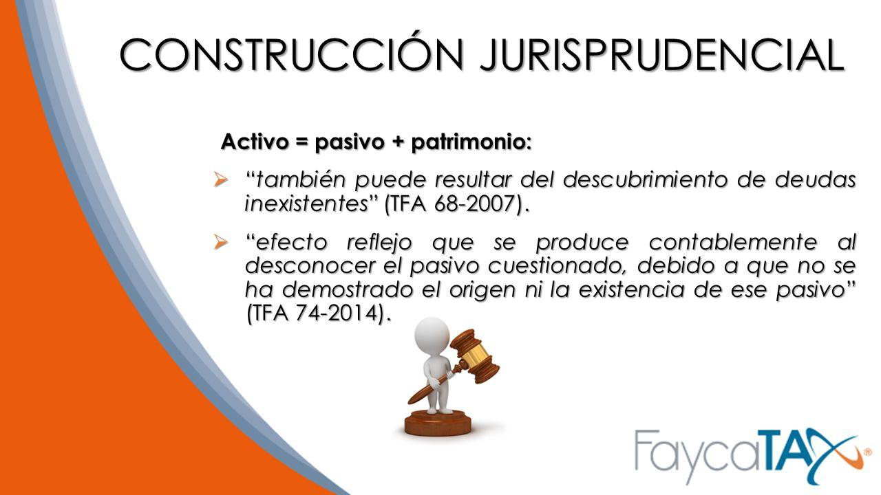 CONSTRUCCIÓN JURISPRUDENCIAL