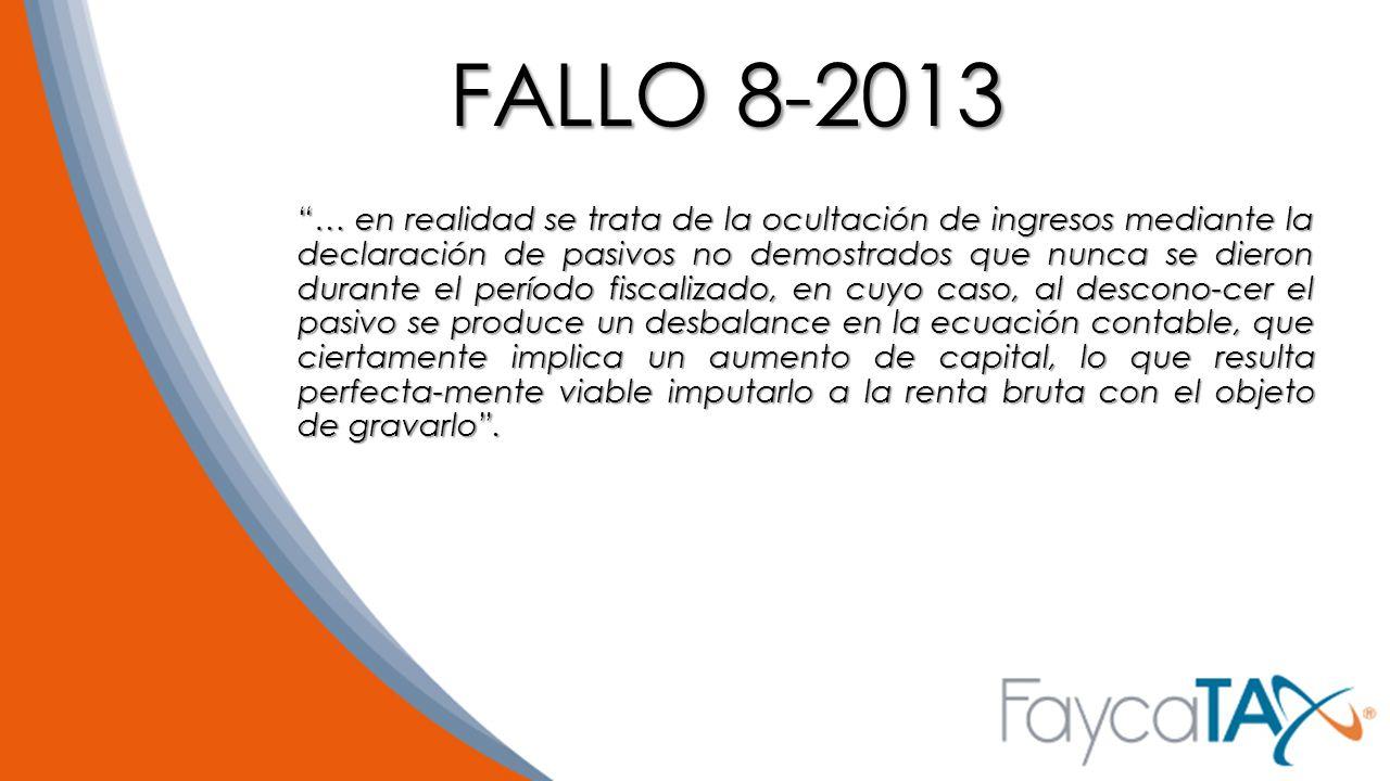 FALLO 8-2013