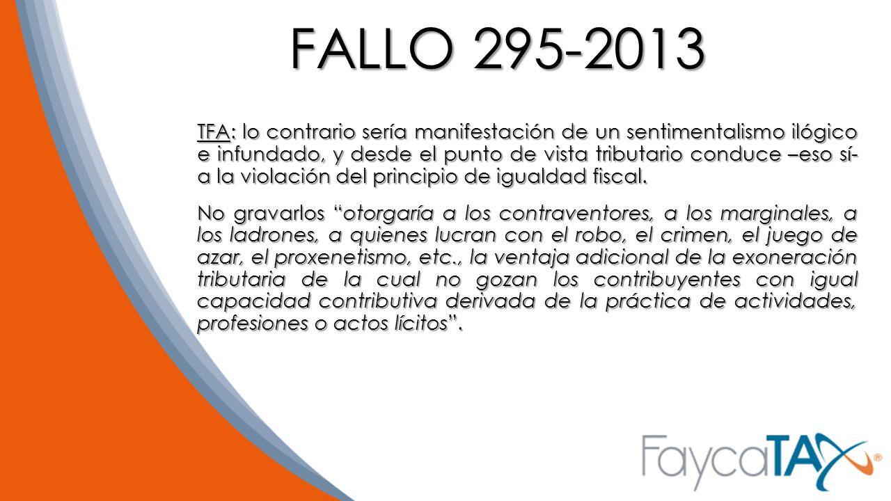 FALLO 295-2013