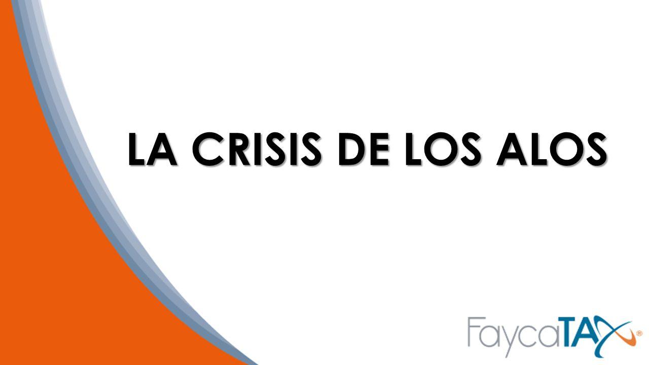 LA CRISIS DE LOS ALOS