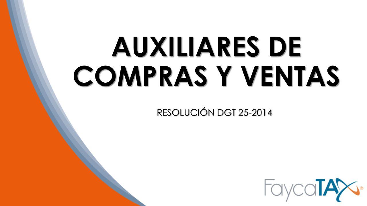 AUXILIARES DE COMPRAS Y VENTAS