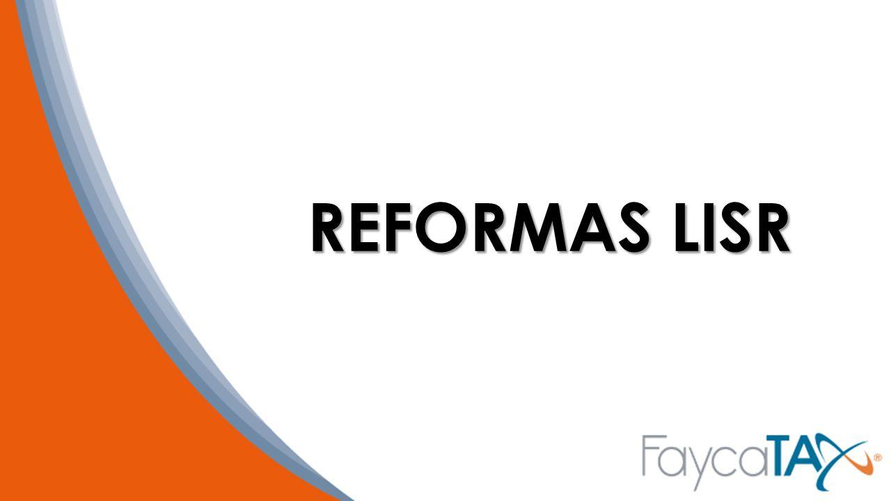 REFORMAS LISR