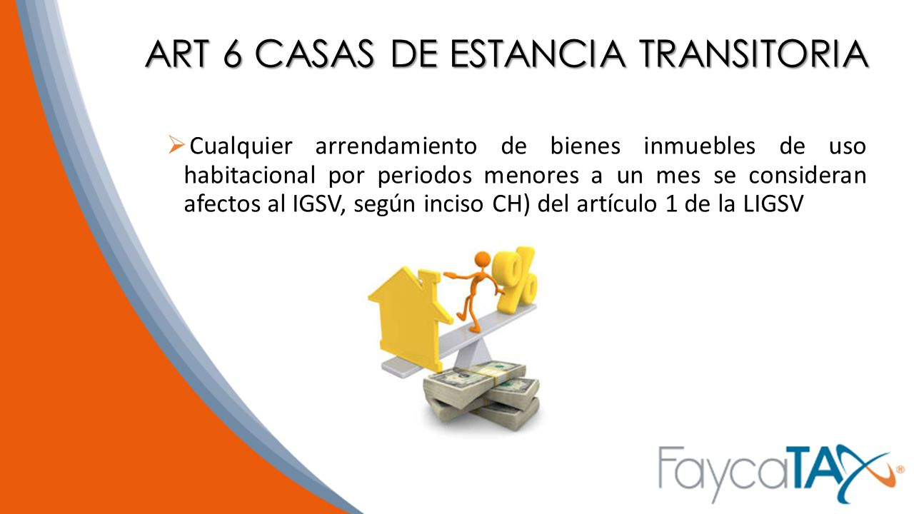 ART 6 CASAS DE ESTANCIA TRANSITORIA