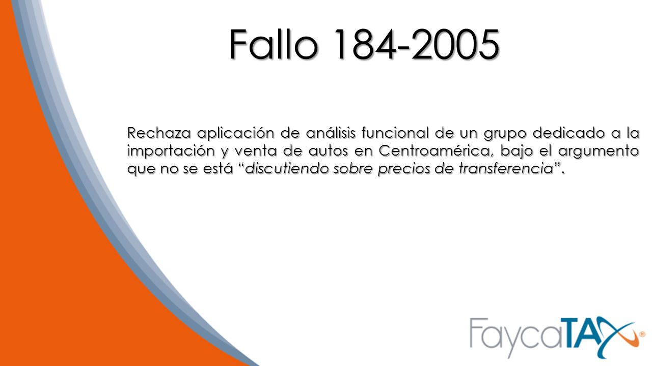 Fallo 184-2005