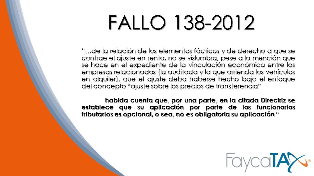 FALLO 138-2012