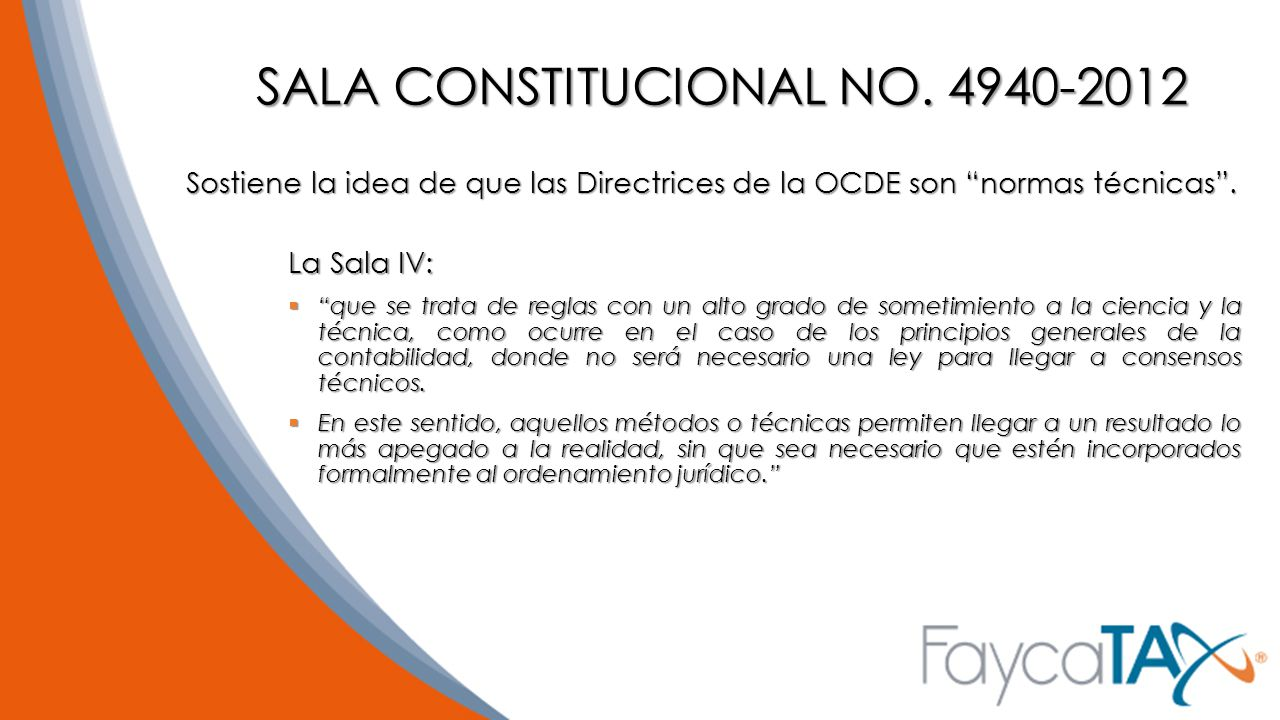 SALA CONSTITUCIONAL NO. 4940-2012